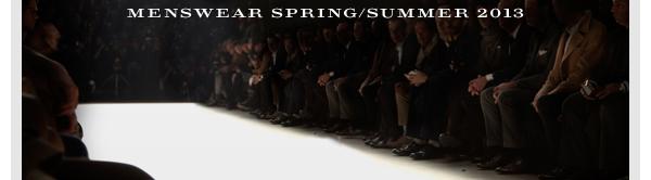 Watch it LIVE, stream that is. Burberry Menswear SS2013,6/23!