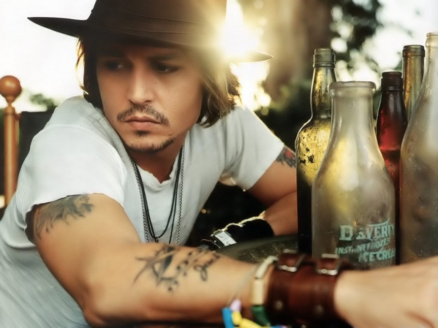 Happy Birthday Johnny Depp You Sexy Twisted Gemini (and my Dad too! He just rocks)