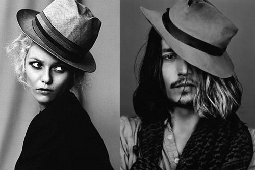 Johnny Depp Flies Back to Vanessa Paradis