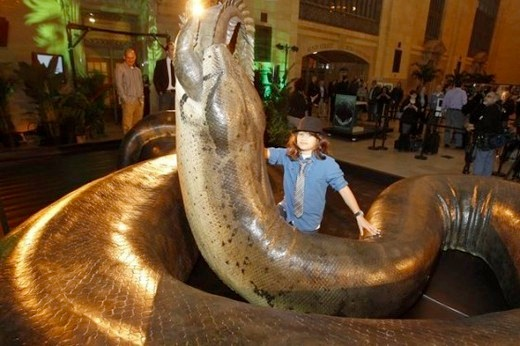 News of the WTF. Strange New Findings in the World of Science; Penis Snake and TITANOBOA! (2/5)