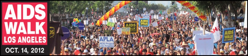 Please support my team, me and AIDS WALK Los Angeles! It only takes a $1!!