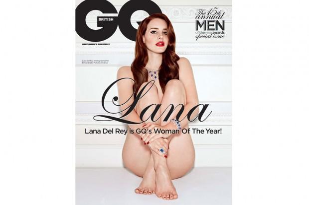 Lana Del Rey Graces GQ UK…..Nude.