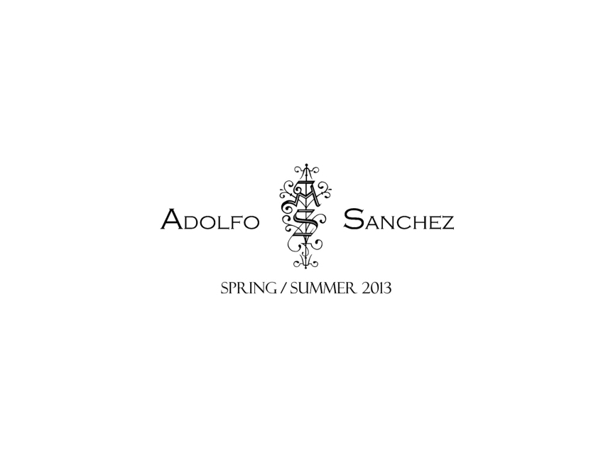 Adolfo Sanchez SS 2013 Lookbook Available Now!