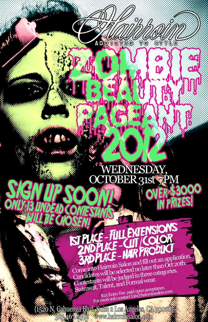 Things to do LA Halloween Style – Zombie Beauty Pageant Oct.31st!