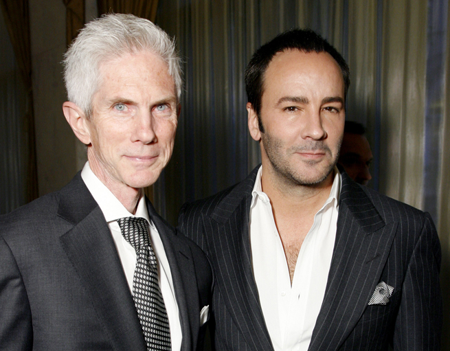Congratulations to Tom Ford and Richard Buckley on a Baby Boy!!