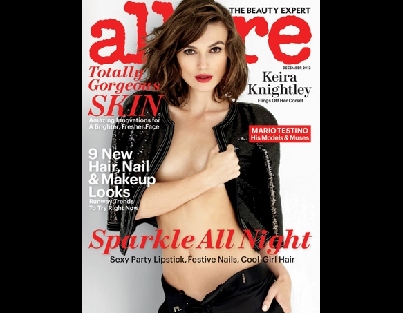 Happy Hump Day, Keira Knightly Topless in AllureMagazine