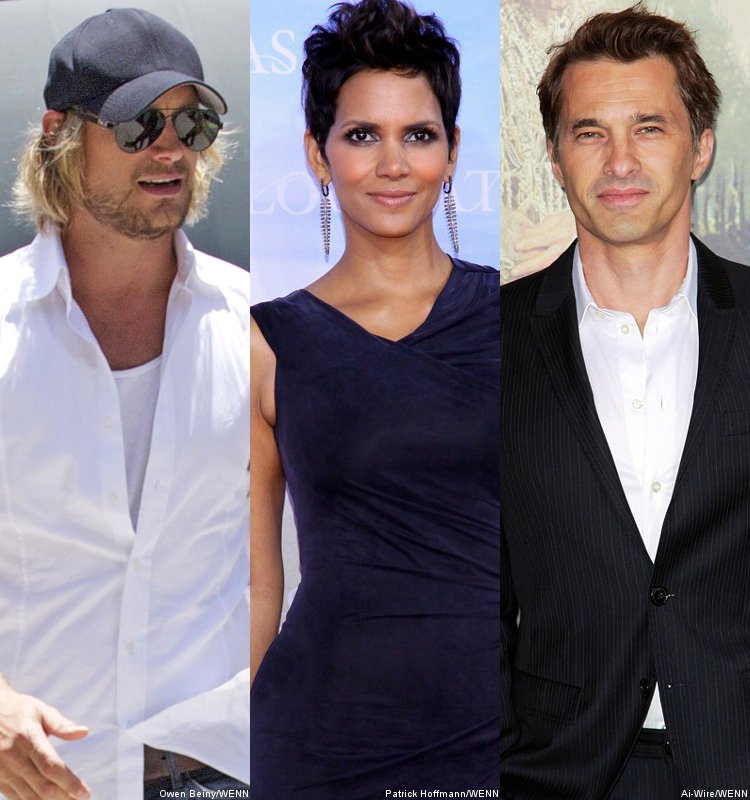 It's Not Thanksgiving Until There is a Fist Fight. Halle Berry, Olivier Martinez and Gabriel Aubry. #SMACKDOWN