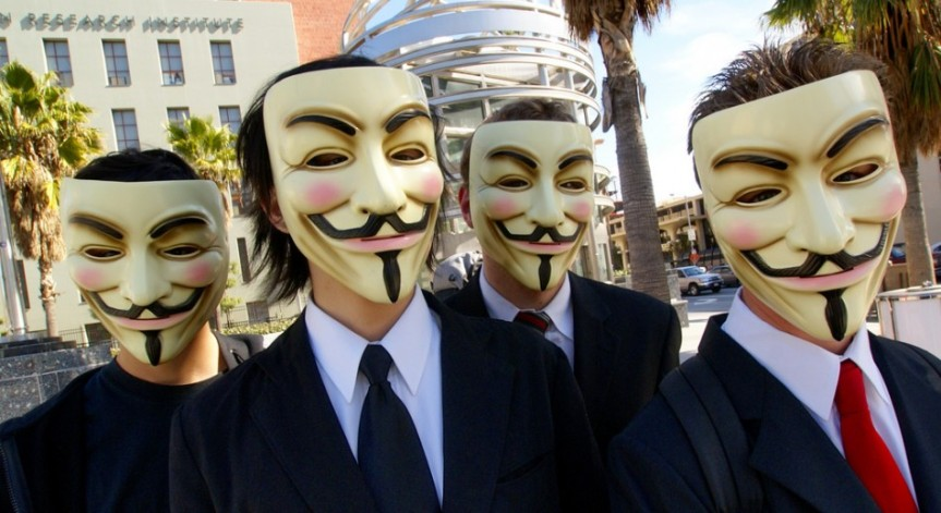 Anonymous to Build Human Shield to Protect Sandy Hook Victims Families
