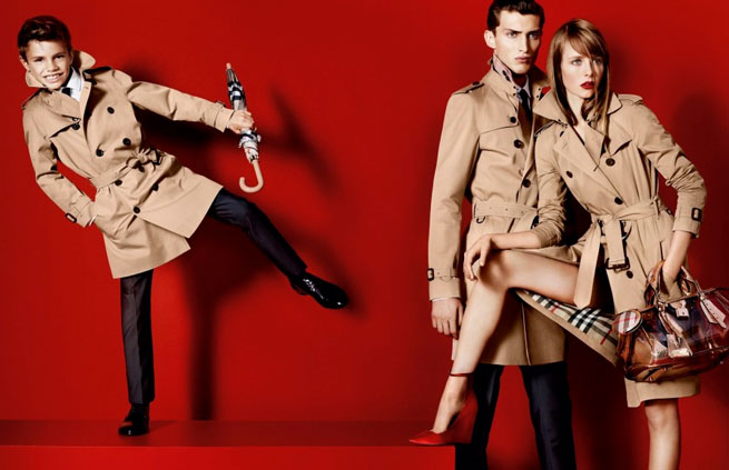 © Copyright Burberry/Testino