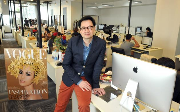 Progress on the Fashion Front - Vogue Thailand Hires it's First Male Editor-in-Chief (1/2)