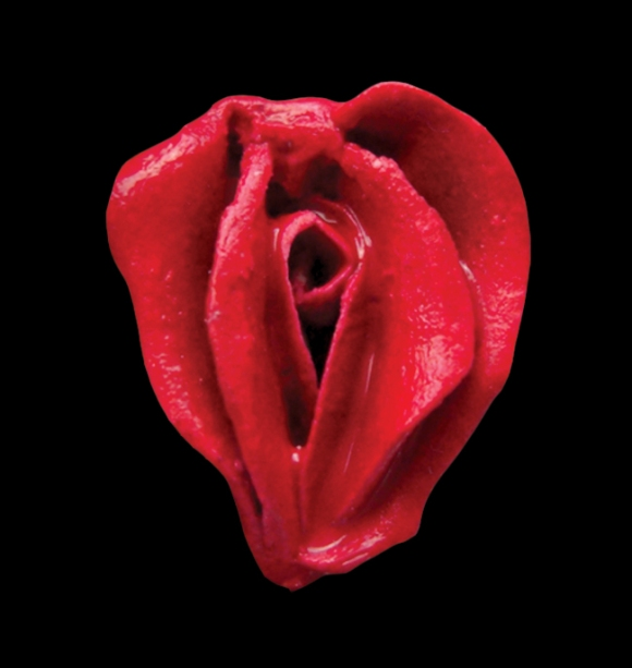Erotic flower red