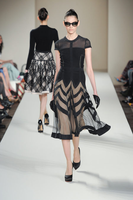 Temperley Goes Art Deco for London Fashion Week #Retro #Modern #LFW #FW2013