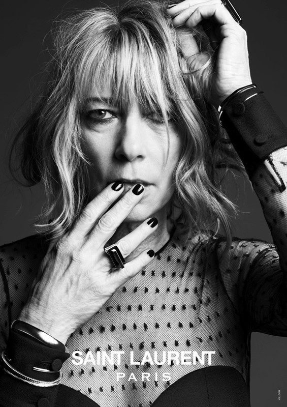 The New Saint Laurent Featuring Icons of 90's Rock #HeidiSlimane #Photography #Campaign (1/6)