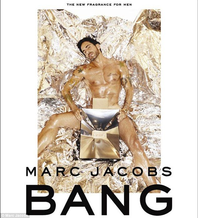 Marc Jacobs Hits 50 with a 'BANG'! #Abs #Fragrance #PourHomme #BirthdayBoy
