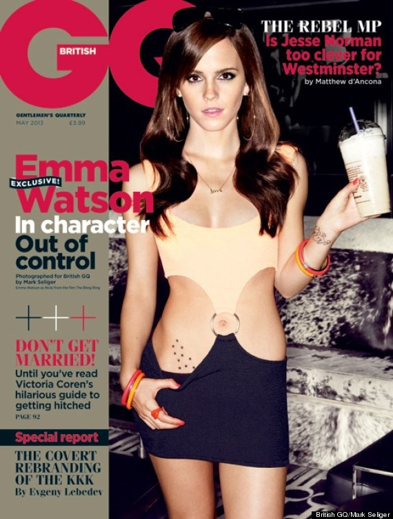 Emma Watson for GQ. Talks Bling Ring Promo. #PrettyWoman #Sexy #GoEmma #Video