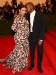 Photos by Getty or WireImage - Kim Kardashian and Kanye West