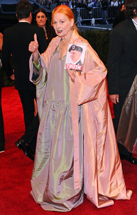 Vivienne Westwood at the Met Ball 21013