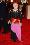 Photos by Getty or WireImage - Zandra Rhodes in her own design