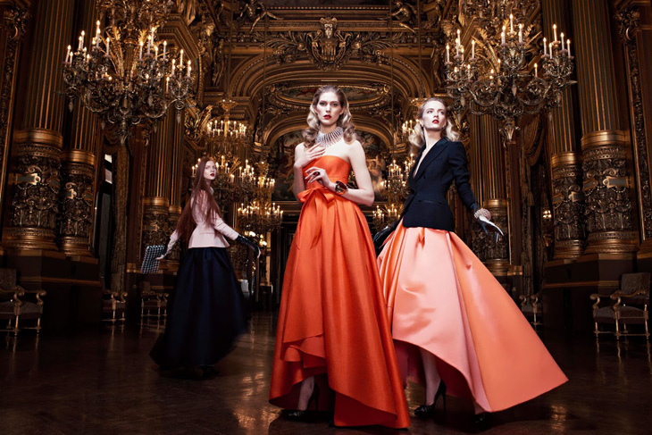 J'adore Dior Ready-to-Wear Fall-Winter 2013 at the Opéra Garnier in Paris #Editorial #Dior #Paris