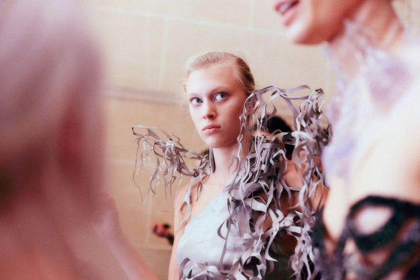 Iris Van Herpen,  Art in Fashion, 2013 Couture #Runway #Backstage