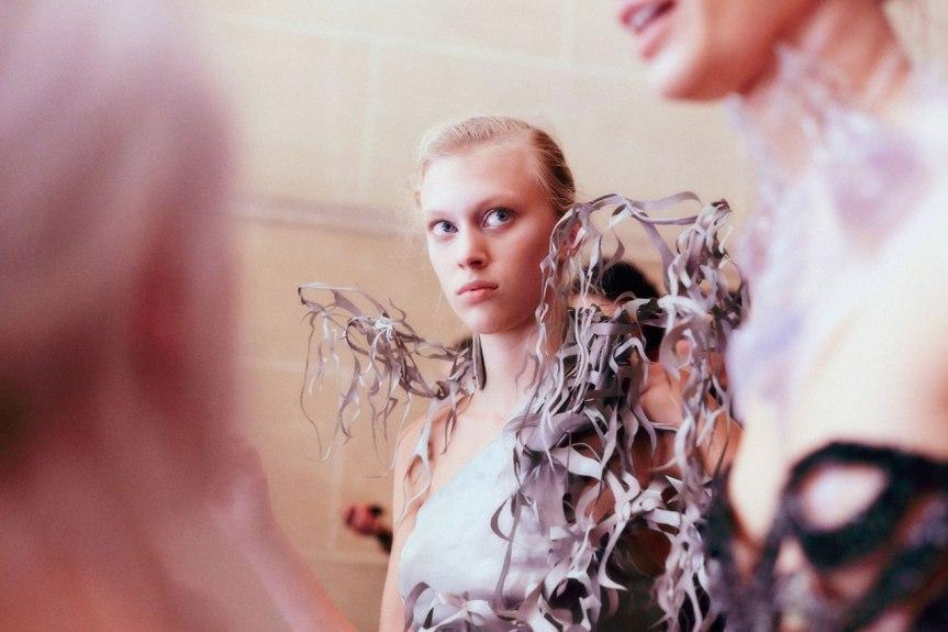 Iris Van Herpen,  Art in Fashion, 2013 Couture #Runway#Backstage