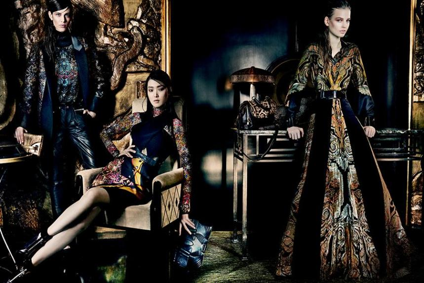 Etro Fall Winter by Mario Testino