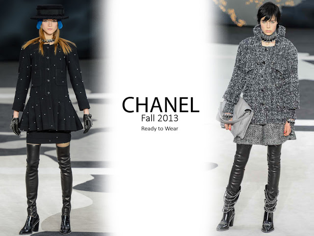Shopping for Fall Chanel Style. Runway and Editorial Video 'Women Only' #Pret-a-Porter#FW2013