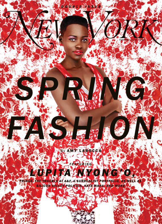 Lupita Nyong'o Devastates in New York Magazine #FashionIssue #Amazing #12yearsaSlave