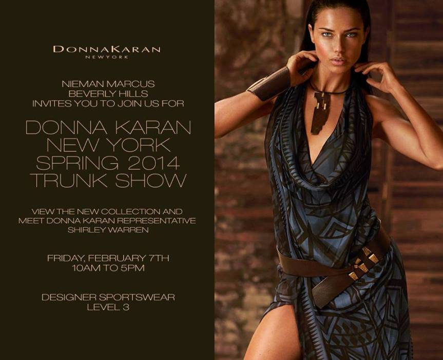 DKNY Beverly Hills Trunk Show #Today #Fashion #DonnaKaran