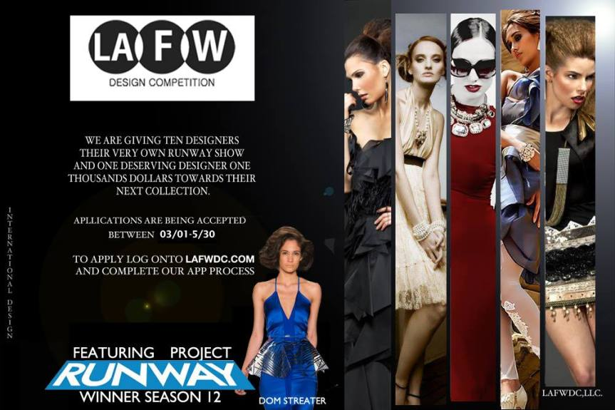 LAFW Design Contest with Dom Streater and Heathyr Wolfe #LAFW #Design #Competition