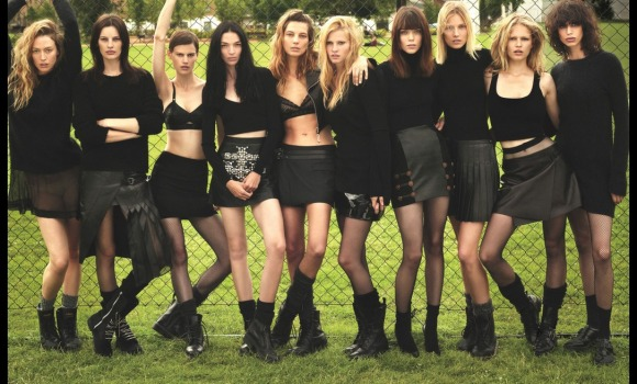 Super Normal Super Models Wear The Best of Fall 2014 Fashion   W Magazine