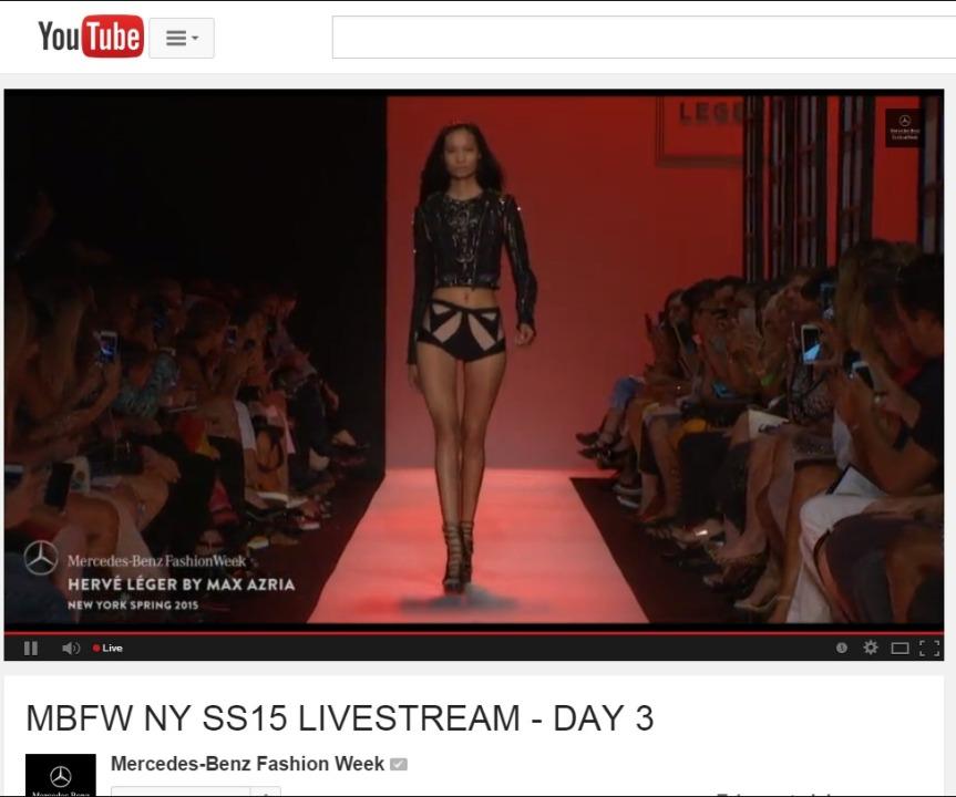 MBFW NY SS15 LIVESTREAM - DAY 3 - YouTube