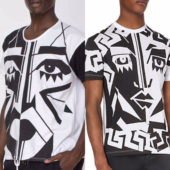 Versace New Shirt is Stolen From  L.A. Artist KESH x American Apparel Design  #KESH #VERSACE #Plagiarism #BadForm