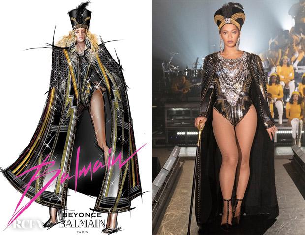 Beyonce and Balmain: A Coachella Love Affair #Beychella#Balmain