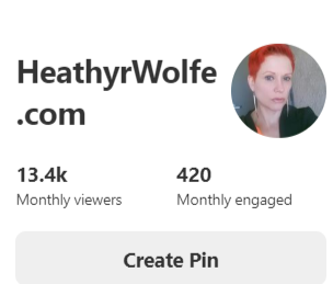 "Social Media Engagement with ""Heathyr Wolfe"""